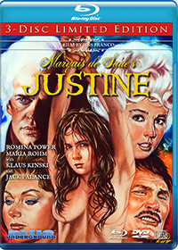 MARQUIS DE SADE'S JUSTINE (3-Disc Limited Edition)