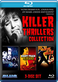 KILLER THRILLERS COLLECTION (3-Disc Blu-ray Set) – OUT OF PRINT