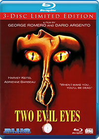 TWO EVIL EYES (3-Disc Ltd Ed/4K Restoration)
