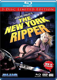 NEW YORK RIPPER, THE (3-Disc Ltd Ed/4K REM)