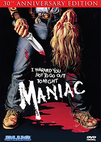 MANIAC (30th Anniversary Edition) – OUT OF PRINT