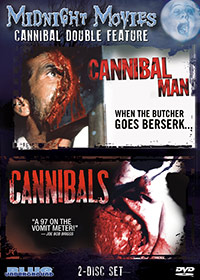 MIDNIGHT MOVIES VOL 8: CANNIBAL DOUBLE FEATURE (CANNIBAL MAN/CANNIBALS) – OUT OF PRINT