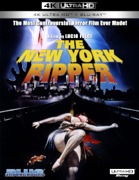 NEW YORK RIPPER, THE (4K UHD Blu-ray)