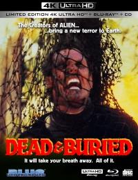DEAD & BURIED (3-Disc Ltd Ed/4K UHD + Blu-ray + CD) Cover B (Burned)